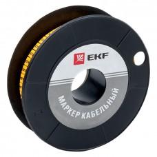 Маркер кабельный 6,0 мм2