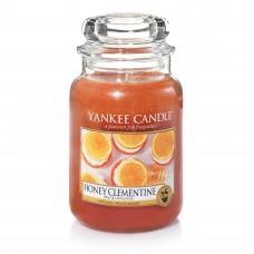Свеча большая в стеклянной банке Медовый клементин Honey Clementine 623 гр / 110-150 часов 1510077E
