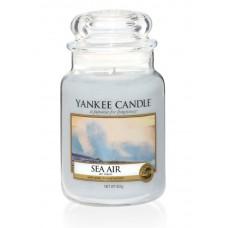 Свеча большая в стеклянной банке Морской воздух Sea air  623 гр / 110-150 часов 1533661E