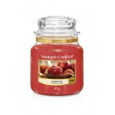 Свеча средняя в стеклянной банке Яблочный сидр Ciderhouse 411 гр / 65-90 часов 1623469E
