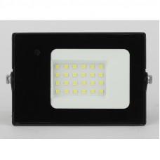 Прожектор ЭРА LPR-041-1-65K-020 20Вт 1400Лм 6500К датчик движения нерегулируемый 122x75x3 Б0043574