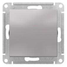 AtlasDesign Алюминий Выключатель 1-клавишный сх.1, 10АХ, механизм ATN000311