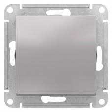 AtlasDesign Алюминий Переключатель 1-клавишный, сх.6, 10АХ, механизм ATN000361