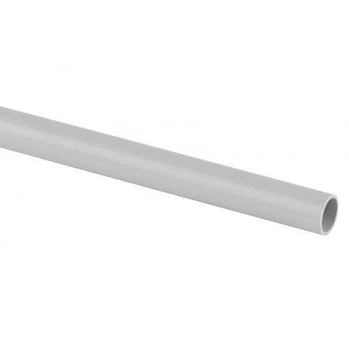 TRUB-16-PVC Труба гладкая жесткая ПВХ (серый) d 16мм (3м) ЭРА Б0020034