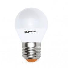 ЛампасветодиоднаяFG45-10Вт-230В-3000К–E27Народная SQ0340-1605