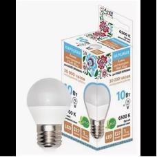 ЛампасветодиоднаяFG45-10 Вт-230В-6500К–E27Народная SQ0340-1591