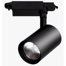 Светильник трековый 10 Вт 1 фаза GTR-10-1-IP20-B черный 580022