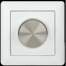 Диммер поворотный DALI (1 адрес) пластик белый IEK LDR12-01-0-1-K01