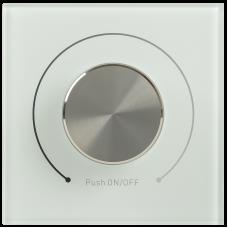 Диммер поворотный DALI (Broadcast) 125мА стекло белый IEK LDR12-01-0-0125-2-K01