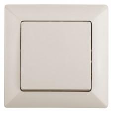4-101-02 Intro Выключатель, 10А-250В, СУ, Solo, сл.кость (10/200/2400) Б0043264
