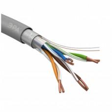 F-4-PVC LAN-кабель витая пара F/UTP-Cu  ЭРА 4x2x24 AWG Cat5e CU PVC 305 м Б0044688