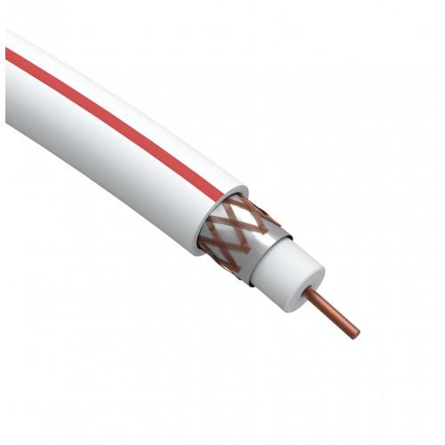 SL-B-75-PVC100 Коаксиальный кабель SAT   ЭРА 703 B,75 Ом, CCS/(оплётка Al, 75%), PVC,цвет б Б0044608
