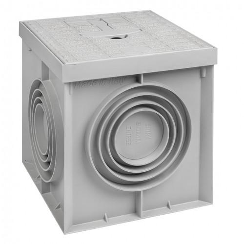 Грунтовый колодец контрольно-измерительный, 200х200х200мм EKF PROxima gc-8170