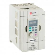 Преобразователь частоты 2,2/4кВт 1х230В VECTOR-100 EKF PROxima VT100-2R2-1B