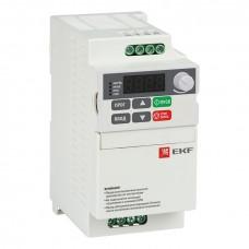 Преобразователь частоты 1,5кВт 3х400В VECTOR-75 compact EKF Basic VT75c-1R5-3B