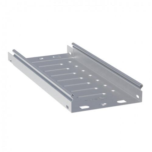 Лоток неперфорированный металлический 50х50х3000-0,55мм EKF L505000-0,55