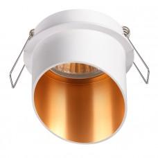 370436 NT19 130 белый Встраиваемый светильник IP20 GU10 50W 220V BUTT 370436
