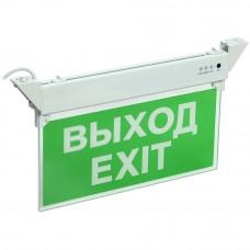 ССА 2101 Светильник аварийный, 3ч, 3Вт, ВЫХОД-EXIT, IP20 IEK LSSA0-2101-3-20-K03