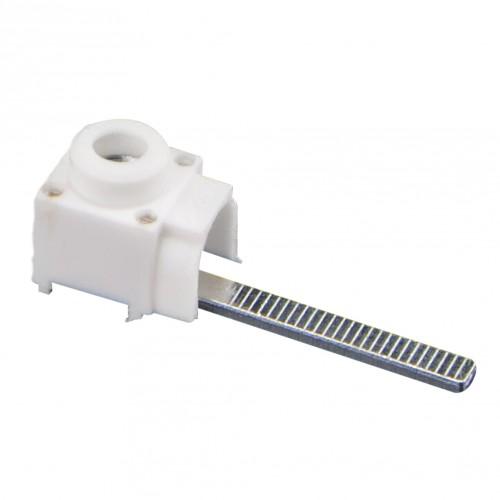 Зажим под проводник для совместного подключения с шиной PIN под переднее соединение, увеличенный штырь (20 шт/упак.) EKF PROxima ck-f-hr