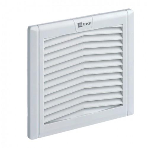 Вентиляционная решётка с фильтром 176x176 мм IP54 EKF PROxima EXF170