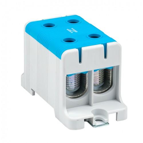 Клемма силовая вводная двойная КСВ 16-95 синяя EKF PROxima plc-kvs2-16-95-blue