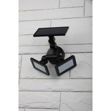 ERAFS020-41 Фасадный светильник с двумя световыми панелями на солнечной батарее,2х24LED,180lm (6 Б0044489