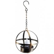 ERASFM-02 Садовый светильник Лофт подвесной на цепи на солнечной батарее, металл, 28 см (18/180) Б0044846