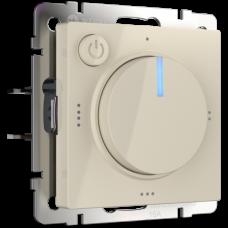 Терморегулятор электромеханический для теплого пола (слоновая кость) / WL03-40-01 a051479