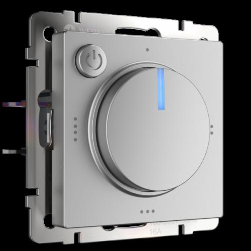 Терморегулятор электромеханический для теплого пола (серебряный) / WL06-40-01 a051521