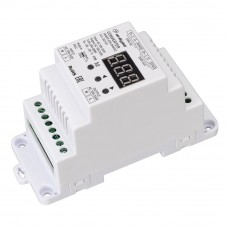 Конвертер SMART-K29-DMX512 (230V, 1x2A, TRIAC, DIN) 027131