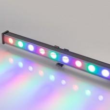 Светодиодный прожектор AR-LINE-1000M-24W-24V RGB (Grey, 30 deg, DMX512) 023624