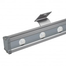 Светодиодный прожектор AR-LINE-1000L-48W-24V RGB-Day4000 (Grey, 15x45 deg, DMX512) 027282