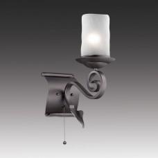 2438-1W, настенный светильник, D100*W550*H205, 1*LED*8W, 490LM, 4000K, included 2438-1W
