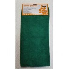 Тряпка для пола из микрофибры M-02F-XL, цвет: зеленый, размер: 70*80 см 310237