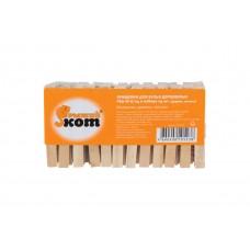 Прищепки для белья деревянные PEG-W-S/24 в наборе 24 шт. (дерево, металл) 311372