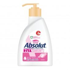 5061 Absolut Cream 2в1 жидкое мыло 250гр Нежное 27728