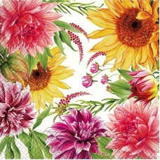 Салфетки бумажные 3сл 33см 20л Gratias Цветение в саду 1127560