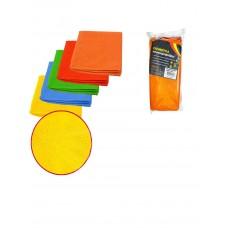 Салфетка из микрофибры автомобильная 30х30 см ZNAK,*100 (ШК: 4670033921335 ) 870791