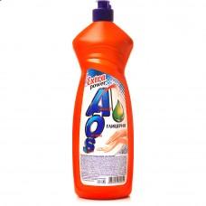 Средство для мытья посуды  AOS Глицерин 900мл, 12шт=1пак 1127830