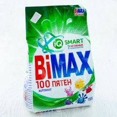 Стир. порошок BIMAX 100 пятен   Автомат 400 гр.  24шт=1пак 7772