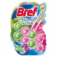 Bref Perfume switch шарики подвесные д/унитаза 1 шт яблоня лотос <2570003> {10} 2570003