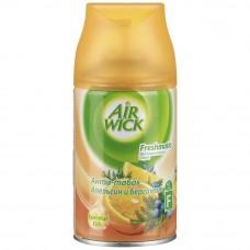 Airwick FRESHMATIC аэрозоль-осв. воздуха сменный д/автомата 250 мл антитабак, апельсин и бергамот <0286508> {6} 286508