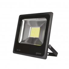 Прожектор светодиодный Gauss Elementary 50W 3510lm IP65 6500К черный ПРОМО 1/10 613100350P