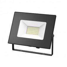 Прожектор светодиодный Gauss Elementary 70W 4370lm IP65 6500К черный ПРОМО 1/10 613100370P