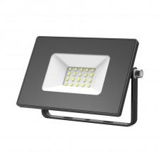 Прожектор светодиодный Gauss Elementary 20W 1320lm IP65 6500К черный ПРОМО 1/20 613100320P