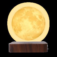 Светильник настольный Gauss 3D Луна 2W 3000K/4000K 220-240V D14см левитация LED LV001